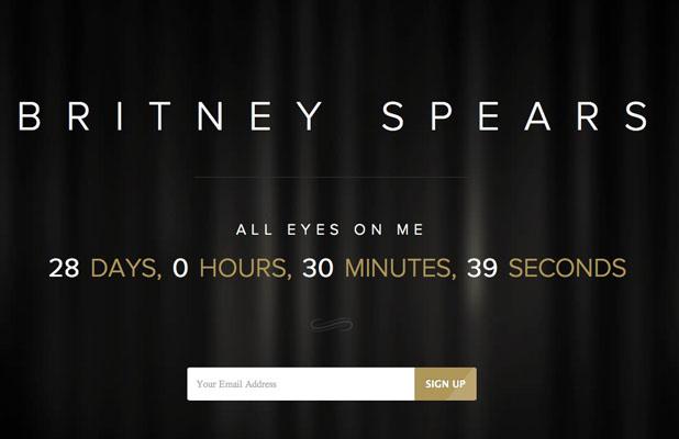 Britney Spears album countdown
