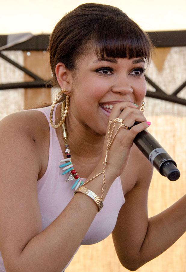 Dionne Bromfield, British Summer Time Hyde Park - Performances - 7 July 2013