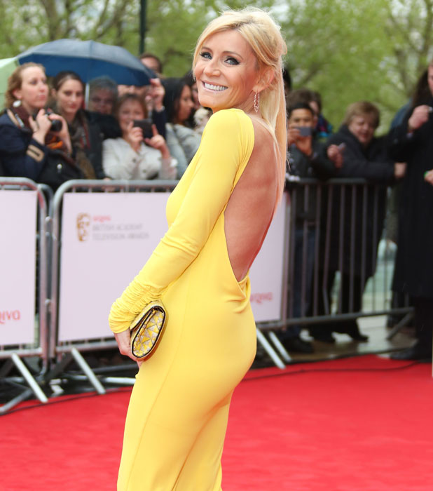 The Arqiva British Academy Television Awards held at the Royal Festival Hall - Arrivals, Michelle Collins, 2013