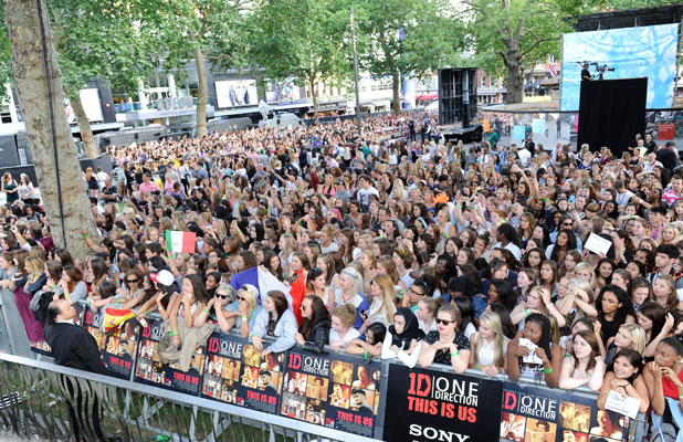 World premiere of 'One Direction: This Is Us' - Arrivals, 20 August 2013