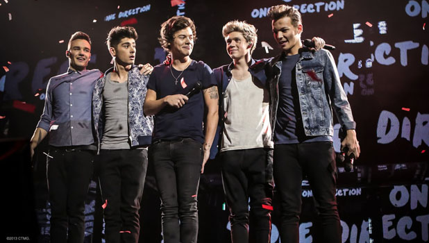 One Direction 'This Is Us' promo shot