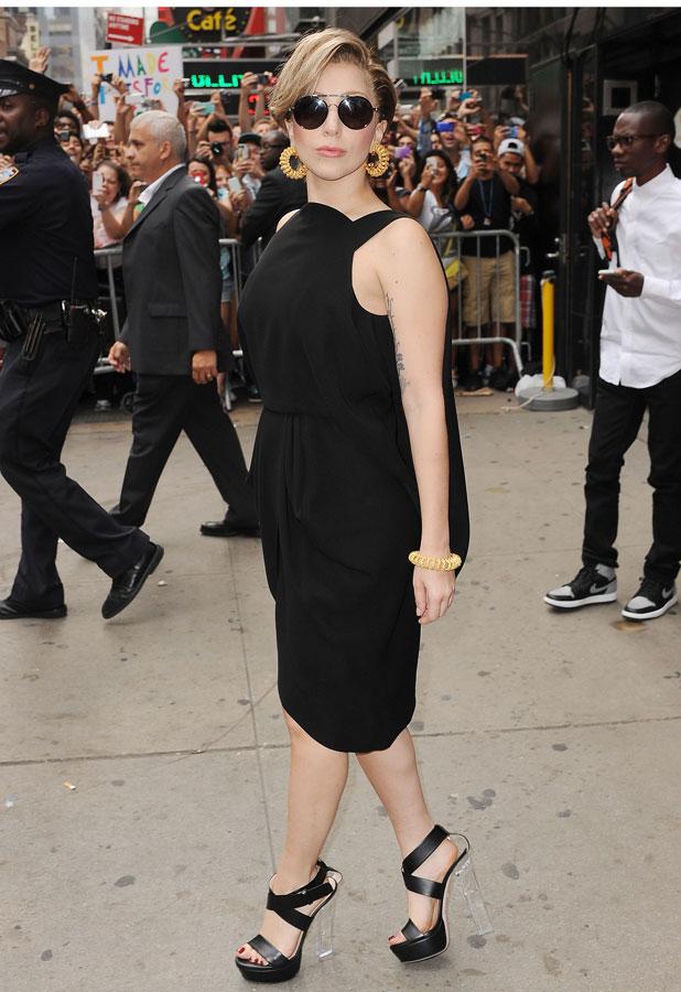 Lady Gaga in NYC 19/08/13