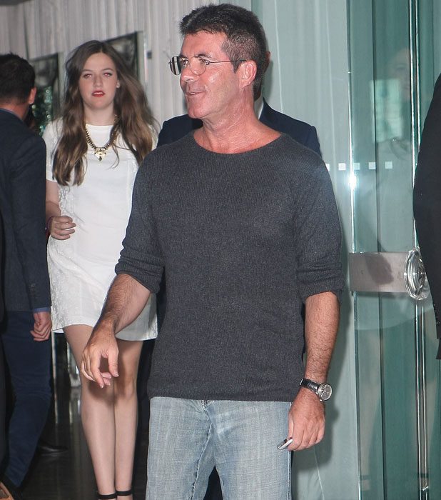 Simon Cowell. Celebrities at the Sanderson Hotel for One Direction's After Party, 20 August 2013