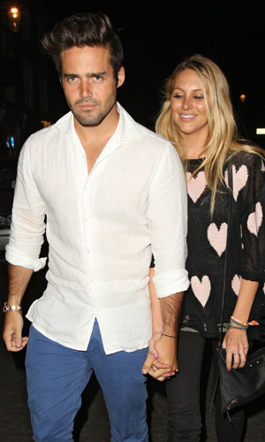 Made in Chelsea cast members eating at E&O in Notting Hill Spencer Matthews, Stephanie Pratt Credit :Spiller/WENN.com Special Instructions : Date Created : 07/25/2013