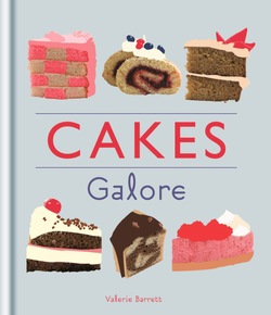 Cakes Galore by Valerie Barrett book cover