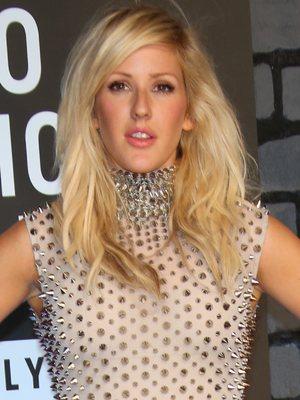 Ellie Goulding arrives at MTV Video Music Awards 2013