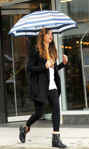 Jessica Biel out and about, New York, America - 28 Aug 2013