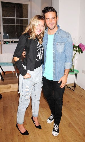 Iswai Pop-Up Shop Launch hosted by Caggie Dunlop, London, Britain - 28 Aug 2013 Spencer Matthews, Caggie Dunlop