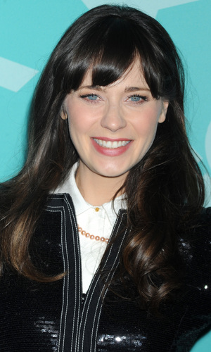 Zooey Deschanel, 2013 FOX Upfront Presentation Post-Party at Wollman Rink in Central Park, 13 May 2013