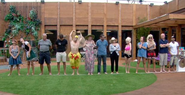 Celebrity Big Brother housemates - 27 August 2013