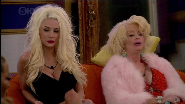 Courtney and Lauren on Celebrity Big Brohter