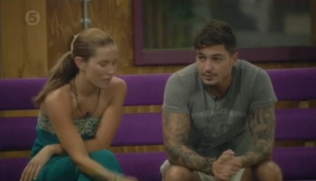 Mario Falcone and Sophie Anderton chat on CBB - 27 August 2013