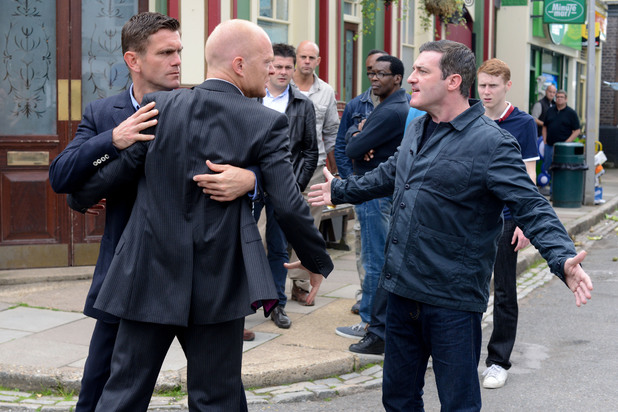 EastEnders, Max threatens Carl, Mon 2 Sep