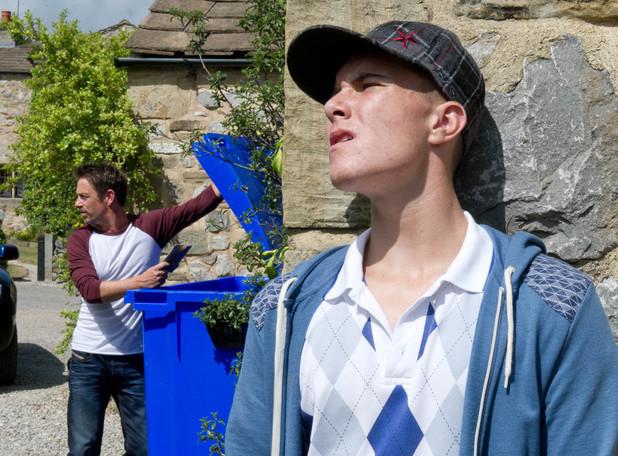 Emmerdale, Sean blackmails Cameron, Fri 30 Aug