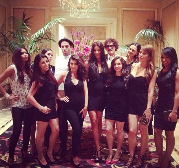 Kourtney Kardashian in Las Vegas 31 August 2013