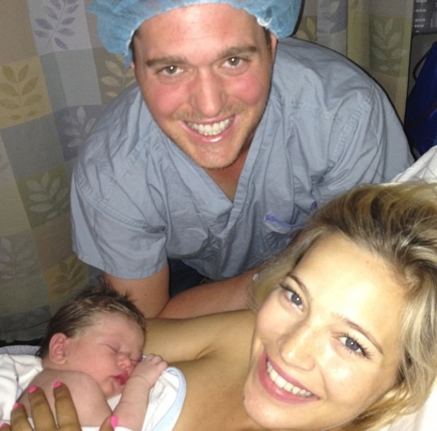 Michael Bublè and wife Luisana Lopilato welcome son