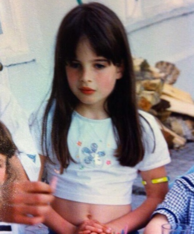 Made In Chelsea's Binky Felstead shares throwback childhood photograph - 30 August 2013