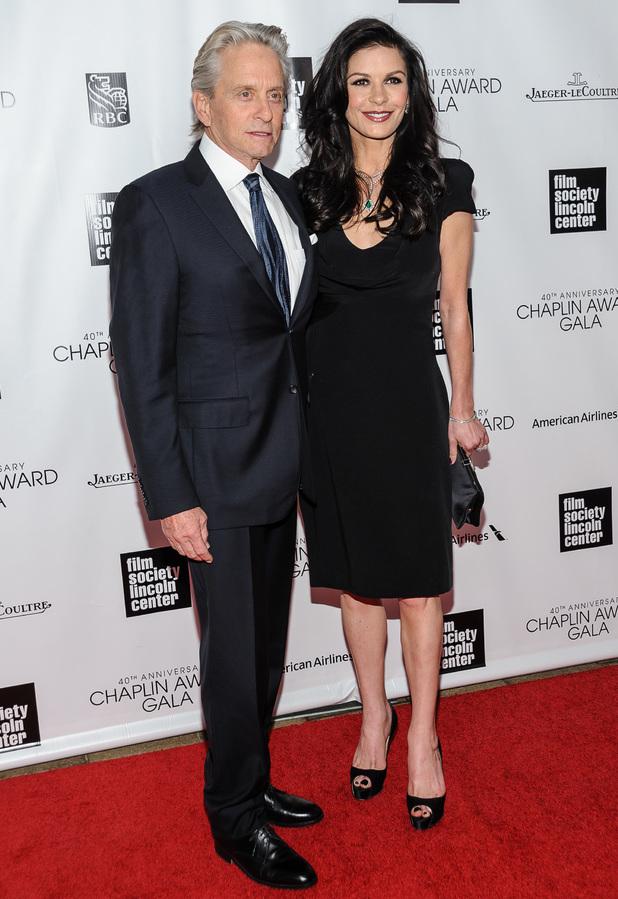 The Film Society of Lincoln Center's 40th Annual Chaplin Award Gala - Michael Douglas, Catherine Zeta-Jones - 22 April 2013