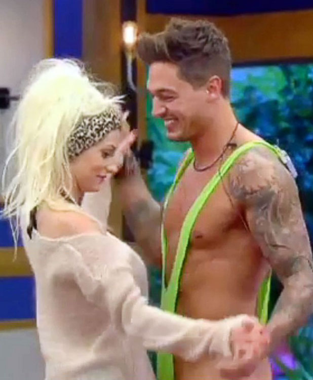 'Celebrity Big Brother', Elstree Studios, Hertfordshire, Britain - 29 Aug 2013 Mario Falcone wearing a mankini