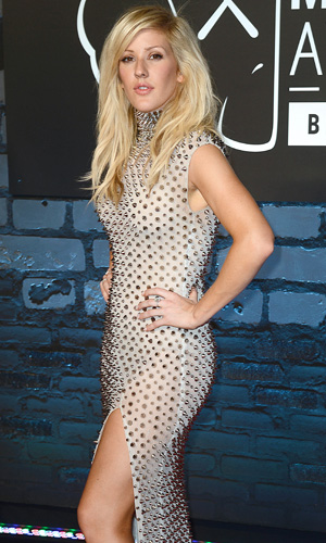 The 2013 MTV Video Music Awards Ellie Goulding Credit :Ryan/WENN.com Date Created :08/26/2013 Location :New York, United States