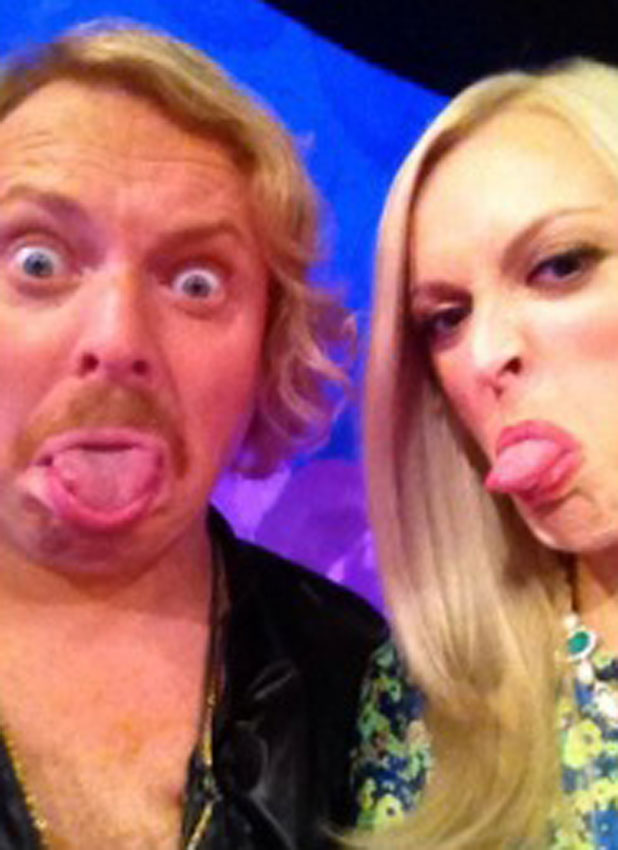 Fearne Cotton and Keith Lemon at a Celebrity Juice taping in London, 28 August 2013