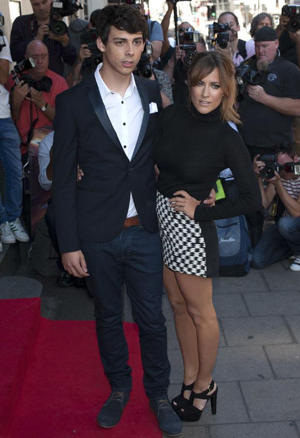 X Factor press launch held at The May Fair Hotel - Arrivals, Caroline Flack, Matt Richardson, 29 August 2013