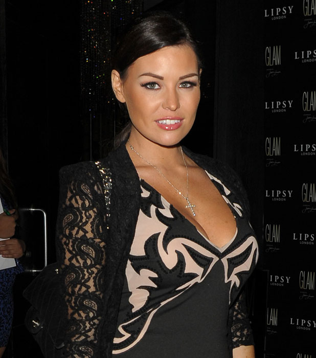 Jessica Wright, Celebrities attend the Lipsy 'Glam' fragrance launch held at the Cumberland hotel, 29 August 2013