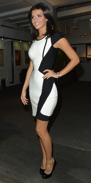 Lucy Mecklenburgh leaving a Celebrity Juice taping in London, 28 August 2013
