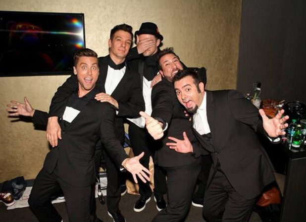 'N Sync: Justin Timberlake, JC Chasez, Joey Fatone, Lance Bass, Chris Kirkpatrick at the MTV Video Music Awards