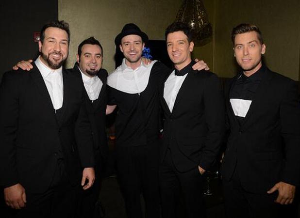 'N Sync: Justin Timberlake, JC Chasez, Joey Fatone, Lance Bass, Chris Kirkpatrick at the MTV Video Music Awards