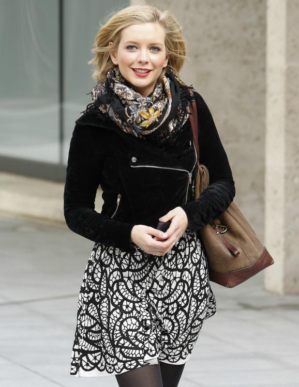 Rachel RIley in London, April 2013