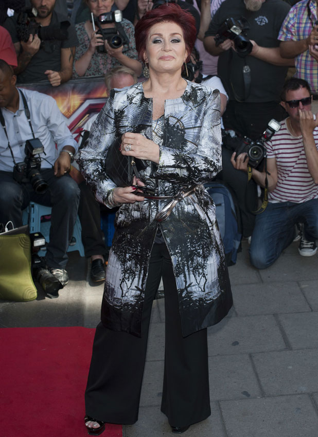 X Factor press launch held at The May Fair Hotel - Arrivals, Sharon Osbourne, 29 August 2013