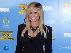 'The X Factor' season three premiere Held at Cecconi's PersonInImage:Demi Lovato Credit :FayesVision/WENN.com