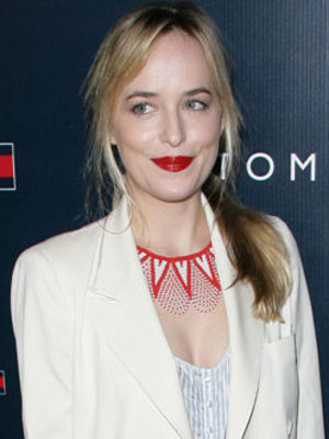 Dakota Johnson, Party to celebrate the opening of the new Tommy Hilfiger West Coast Flagship store on Robertson Boulevard, 2013