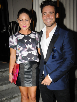 Taylor Morris Launch Party - Spencer Matthews, Louise Thompson 5.9.2013