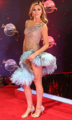 Strictly Come Dancing red carpet launch event held at Elstree studios - Arrivals - Abbey Clancy 2013