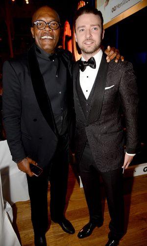GQ Men of the Year Awards, Royal Opera House, London, Britain - 03 Sept 2013 Justin Timberlake, Samuel L Jackson