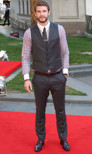 Liam Hemsworth at the world premiere of Rush held at the Odeon Leicester Square- Arrivals, 2 September 2013