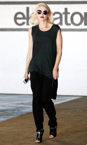 Gwen Stefani leaving a Beverly Hills Hospital - 5th September 2013