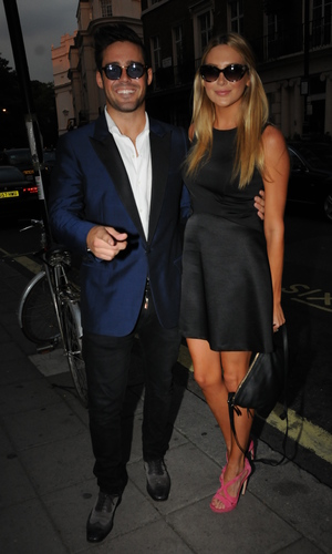 Taylor Morris Launch Party - Spencer Matthews, Stephanie Pratt 5.9.2013