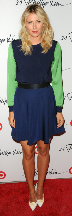 Maria Sharapova at the 3.1 Philip Lim for Target launch party at New York Fashion Week - 5th September 2013
