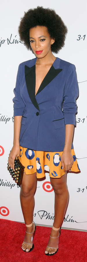 Solange Knowles at the 3.1 Philip Lim for Target launch party at New York Fashion Week - New York 5th September 2013