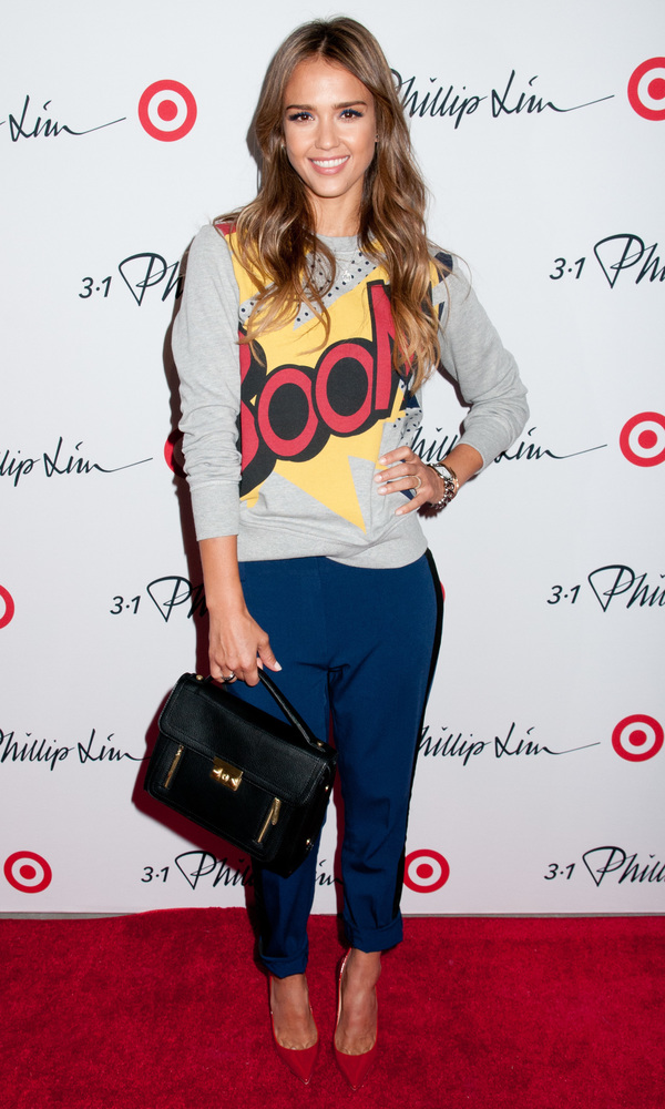 Jessica Alba at the 3.1 Philip Lim for Target launch party at New York Fashion Week - New York 5th September 2013