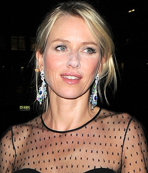 Naomi Watts arrives for the Diana afterparty at 5 Cavendish Square - London 5th September 2013