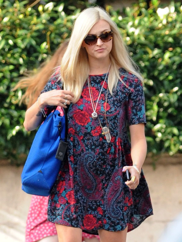Fearne Cotton arrives at the BBC Radio 1 studios - London 5th September 2013