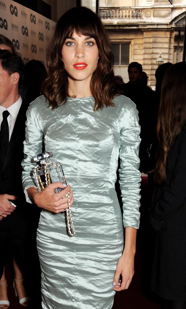 Alexa Chung at the GQ Awards - London 2nd September 2013