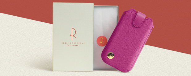Rosie Fortescue collaborates with COVERT