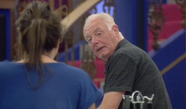 Bruce and Charlotte Crosby row on Celebrity Big Brother - 2 September 2013