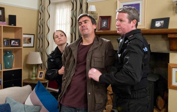 Emmerdale, Cain helps Adam escape, Fri 6 Sep