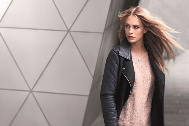 Poppy Delevingne for VERO MODA Autumn collection 2013